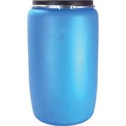 Бочка пластиковая 227 литров крышка на обруче